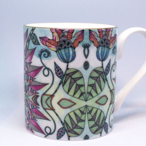 Decorative nature cup