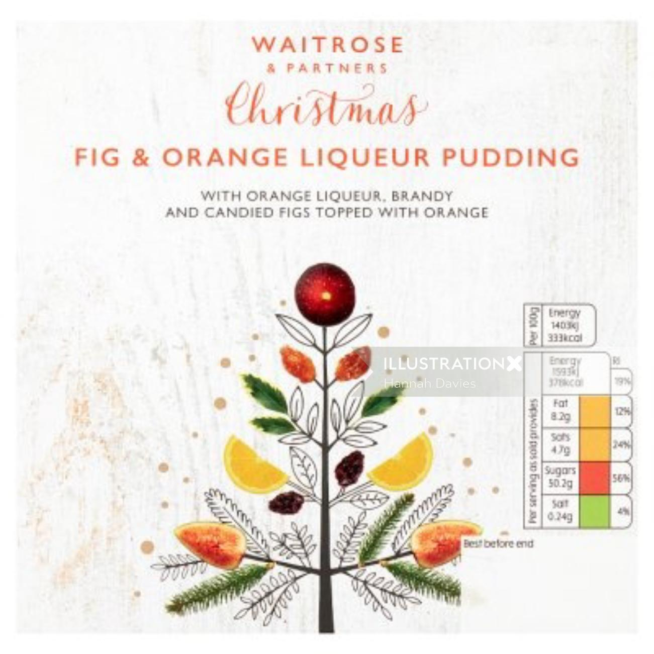 Decorative Waitrose Christmas