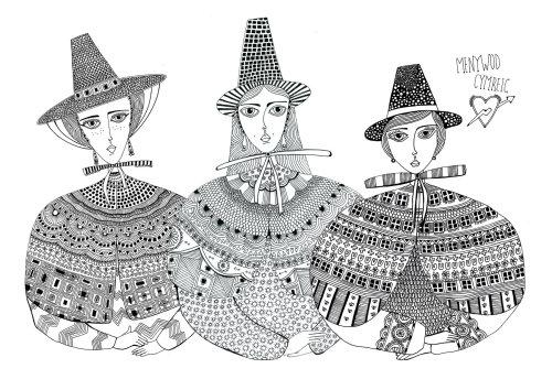 character design of women