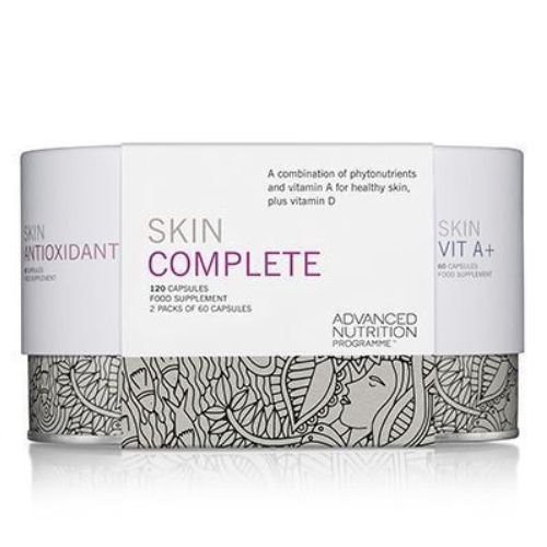 Skin care product package illustration