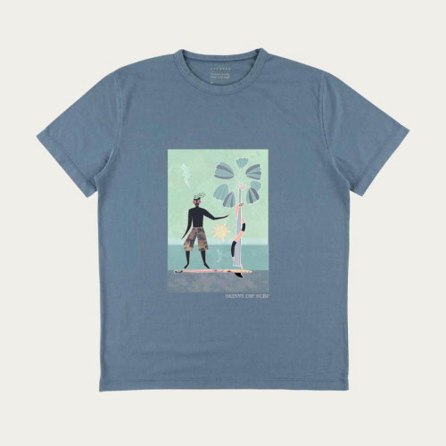 Decorative illustration on Tshirt