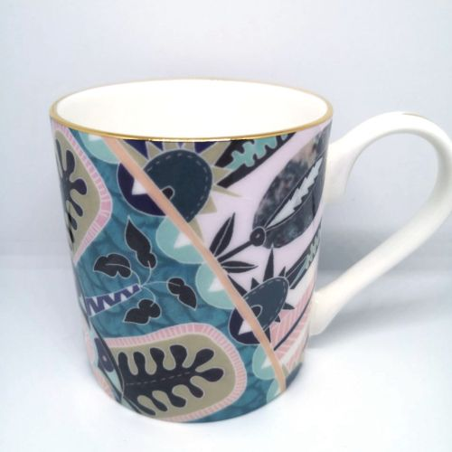decorative detailed illustration of mug