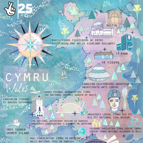 Maps CYMRU wales