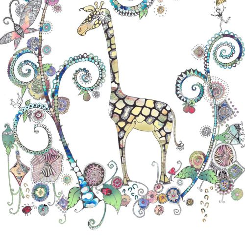 Giraffe illustration by Hannah Davies