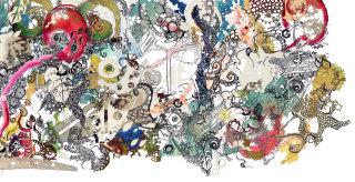 Dreamy world illustration