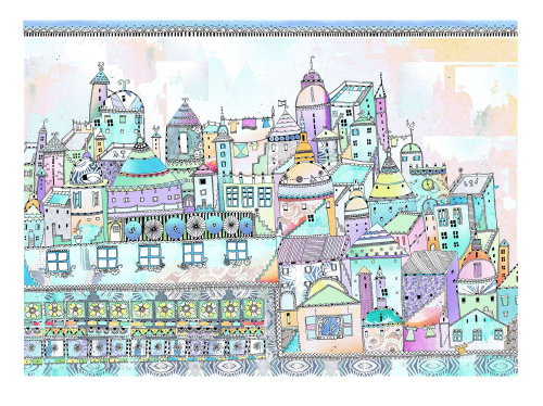 Buildings illustration by Hannah Davies