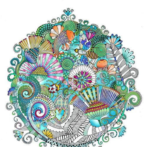 Decorative illustration by Hannah Davies