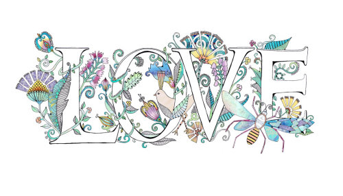 Letters Love - Illustration by Hannah Davies