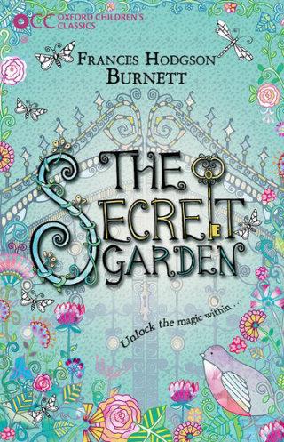 An illustration for secret garden book by hannah Davies