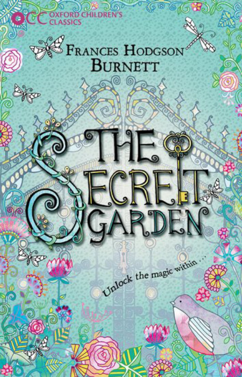 An illustration for secret garden book by hannah Davies