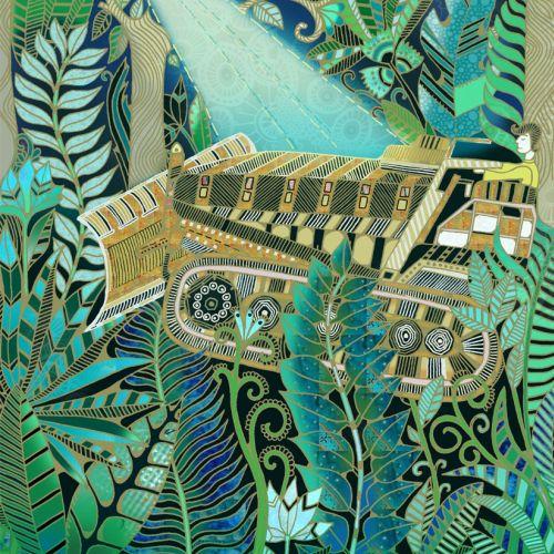 Bolivian Jungle illustration by Hannah Davies