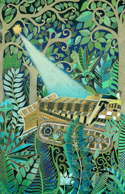 Bolivian Jungle illustration by Hannah Davies