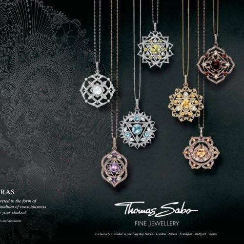 Thomas sabo chakra jewellery - An illustration by Hannah Davies