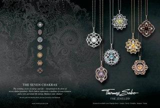 Thomas sabo chakra jewellery - An illustration by Hannah Davies