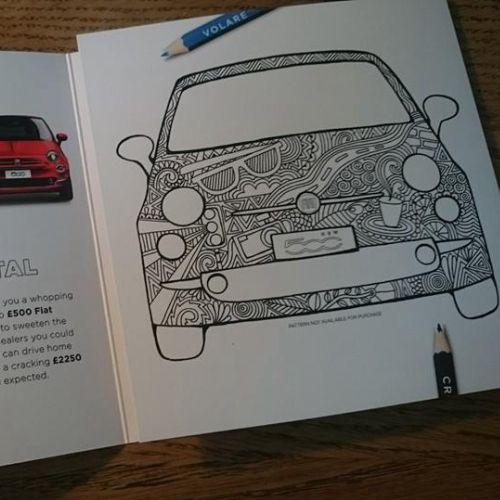 Editorial car brochure
