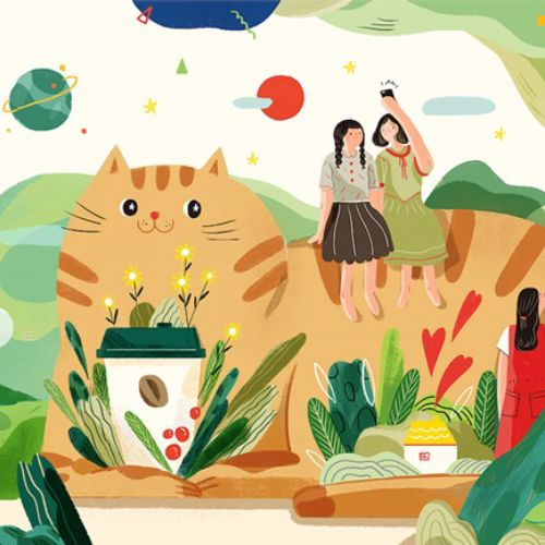 Hao Hao Illustrator from Beijing