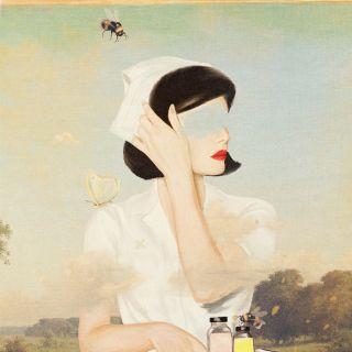 Heather Landis - Vintage, collage illustrator. USA