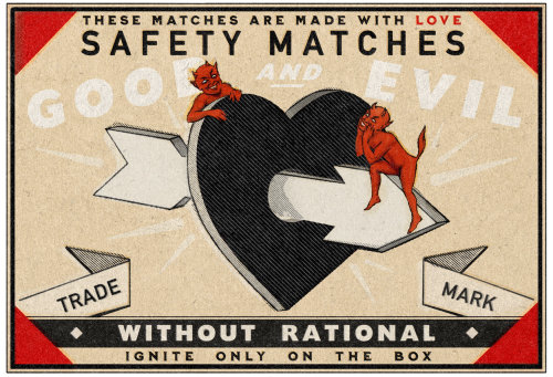 Digital lettering of safety matches
