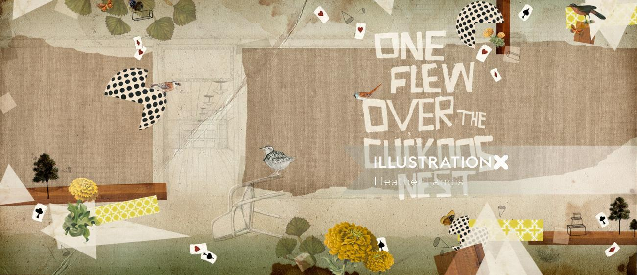 Book Cover for One Flew Over The Cuckoos Nest