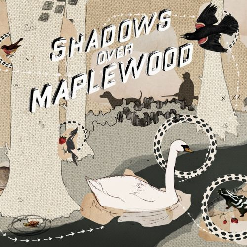 Shadows Over Maplewood Young Adult Book Cover