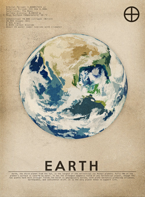 An illustration of earth