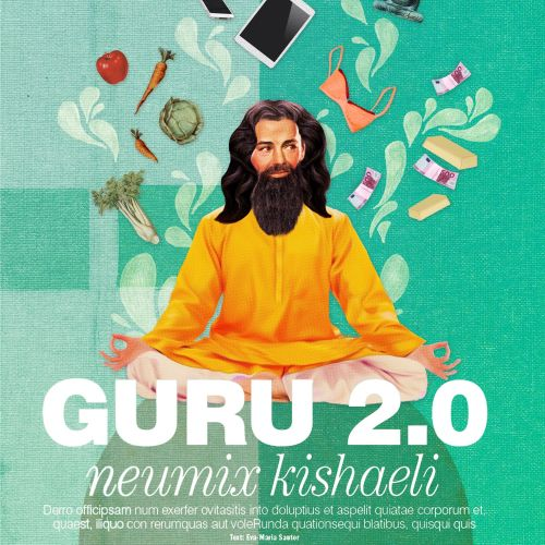 Illustration of guru by Heather Landis