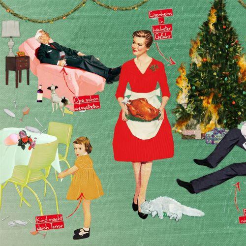 Editorial art of Entpannte Weihnachten