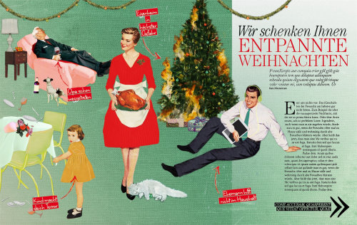 Editorial art of Entpannte Weihnachten