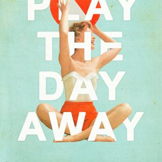 An illustration concept of play the day away