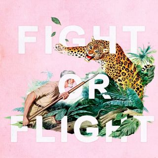 Fight or Flight lettering art by Heather Landis