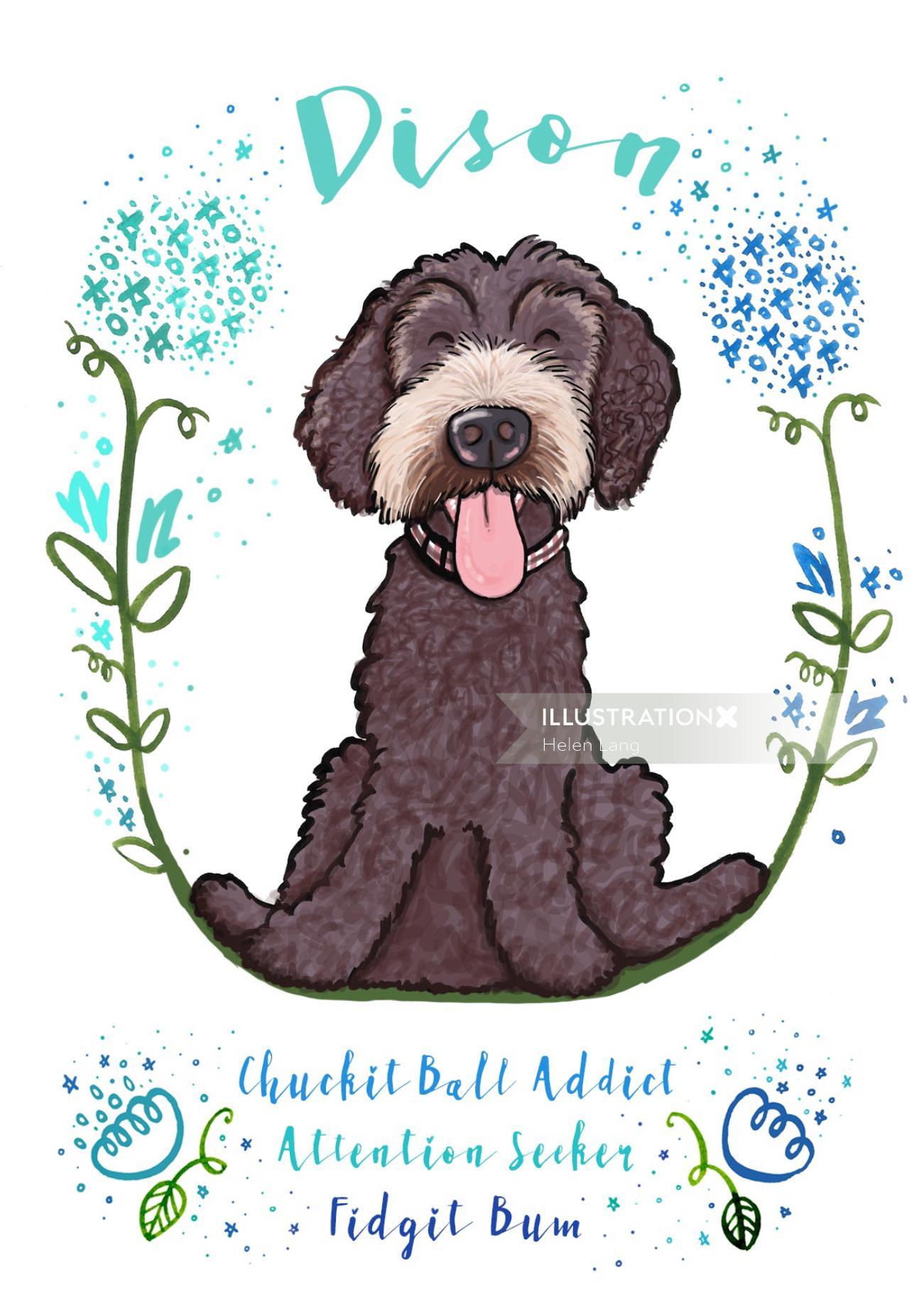 Dog | Animal illustration collection