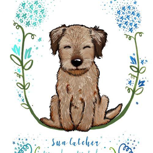 Illustration of puppy