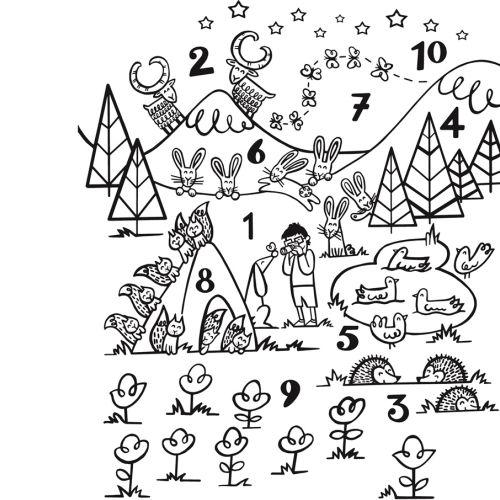 Children's book illustration by Helen Lang