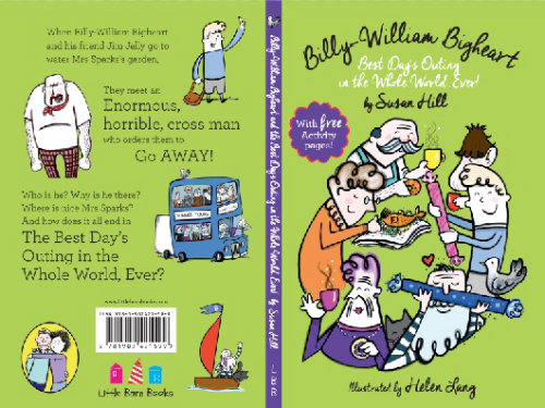 Book cover illustration of Billy Willian Big heart