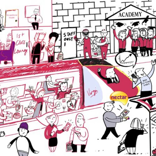 Illustration for Virgin Trains
