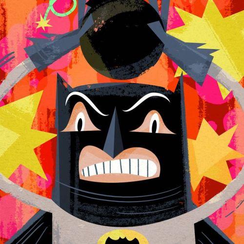 Batman - Comic Character Design