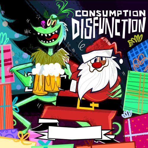 Character Art of Grinch and Santa Claus