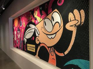 Mural Illustration For Nick Animation