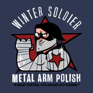 Comic Character Of Winter Soldier
