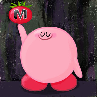 Kirby cartoon character