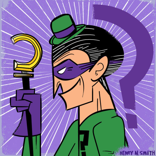 An illustration of Riddler