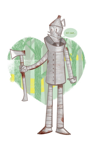 Tin man Character Art