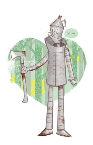 Tin man Character Art