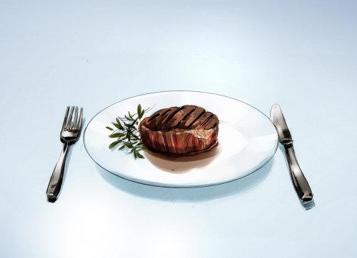 Food illustration by Henry Zimak
