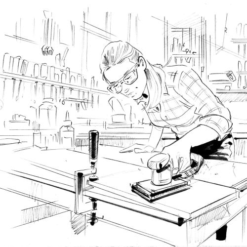 Henryk Zimak Line Illustrator