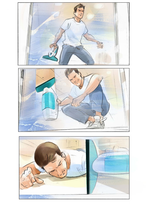 清洁房子的情节提要插图