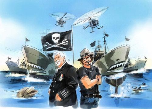 Graphic design of Pirates of the Caribbean