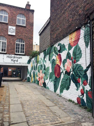 Street wall mural