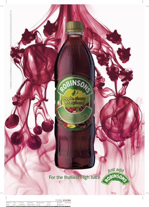 Robinsons Juice 3d Rendering Illustration