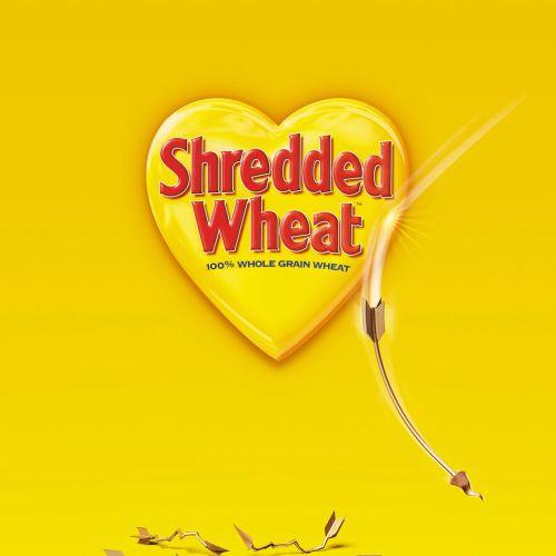 Cover design for shredded wheat